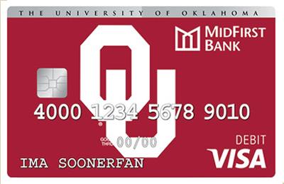 OU Debit Card
