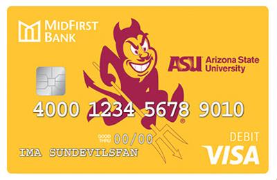 Sparky Debit Card