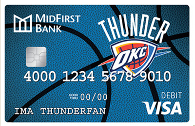 Thunder Debit Card