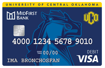 UCO Debit Card